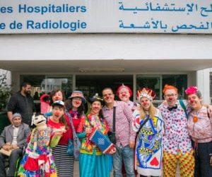 Humanitaire Clowns reis naar Marocco